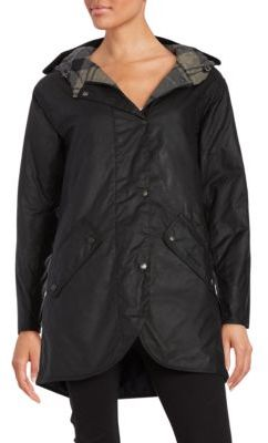Barbour Coll Waxed Cotton Jacket $349 thestylecure.com