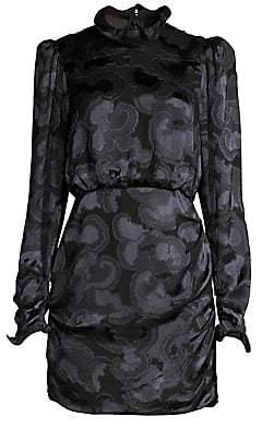 Saloni Women's Rina B Tonal Print Dress