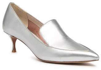 Kenneth Cole New York Shea Leather Metallic Kitten Heel Loafer