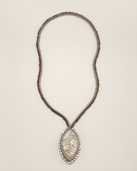 Chico's Tome Pendant Necklace