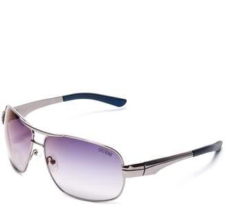 GUESS Factory Men's Metal Navigator Sunglasses