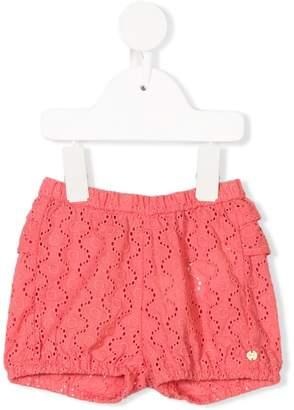Lili Gaufrette lace shorts