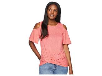 Bobeau B Collection by Alison Side Knot Cold Shoulder