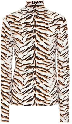 MiH Jeans Tiger turtleneck top