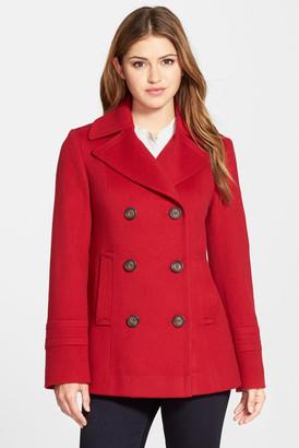 Fleurette Wool Peacoat $700 thestylecure.com