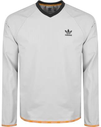 adidas Crew Sweatshirt Grey