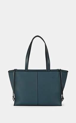 Loewe Women's Cushion Leather Tote Bag - Steel Blue
