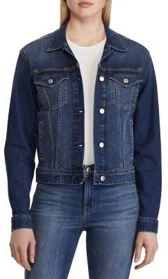 Lauren Ralph Lauren Paizley Denim Jacket