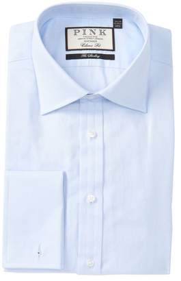 Thomas Pink Timothy Herringbone Classic Fit Shirt