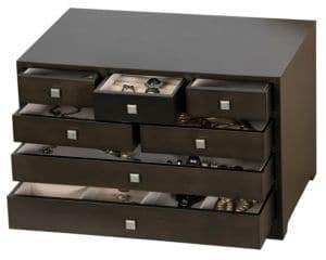 Mele Four-Tiered Jewelry Chest