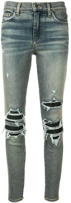 Amiri ripped detailed jeans