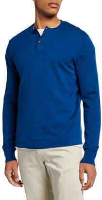 551a7cf37 Mens Light Blue Henley Shirts - ShopStyle
