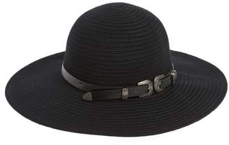 BCBGMAXAZRIA Belted Floppy Felt Hat