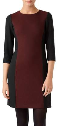 Hobbs London Gracie Color-Block Sheath Dress