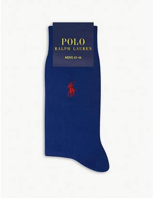 Polo Ralph Lauren Pony Fil d'Ecosse cotton socks