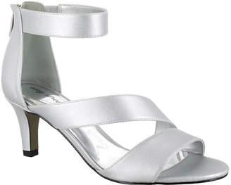Easy Street Shoes Womens Maxi Pumps Zip Open Toe Spike Heel
