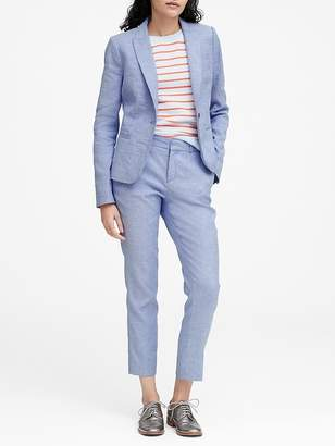 Banana Republic Classic-Fit Linen-Cotton Blazer