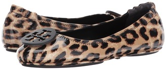 Tory Burch - Minnie Travel Ballet Women's Shoes $228 thestylecure.com