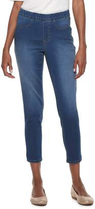 Croft & Barrow Women's Pull-On Ankle Jeans