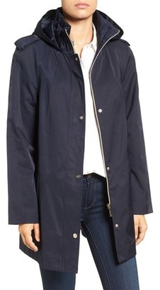 Women's Ivanka Trump Raincoat With Removable Hood $180 thestylecure.com