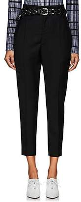 Etoile Isabel Marant Women's Noah High-Rise Wool Trousers - Black