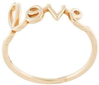 Sydney Evan 14kt yellow gold love ring