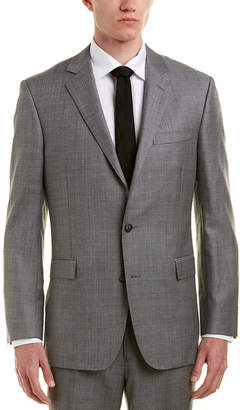 Brooks Brothers 1818 Regent Fit Wool Suit With Flat Front Pant