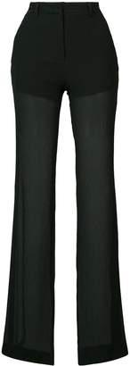 Vionnet semi-sheer trousers