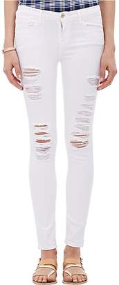 Frame Women's Le Color Ripped Skinny Jeans