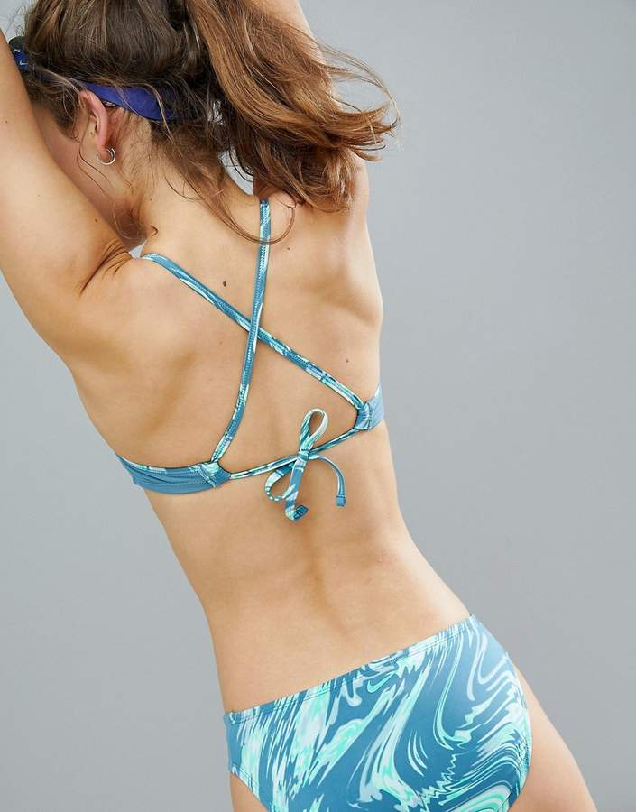 Swim Reversible Crossback Bikini Top