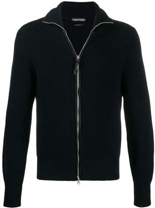 Tom Ford full zip cable-knit sweater