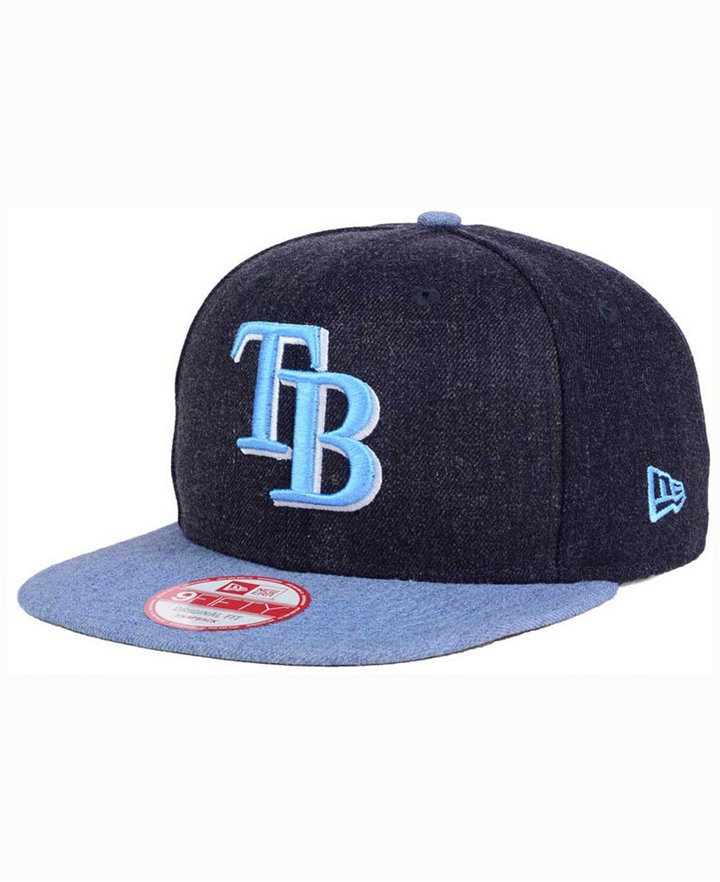 New Era Tampa Bay Rays Heather 2Tone Snapback Cap