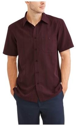 George Men's Short Sleeve Microfiber Shirt