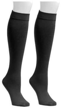 Muk Luks Women's Fleece Lined 2-Pair Pack Knee High Socks