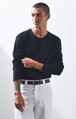 PacSun Trenton Thermal Long Sleeve Scallop T-Shirt