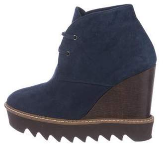 Stella McCartney Vegan Platform Booties