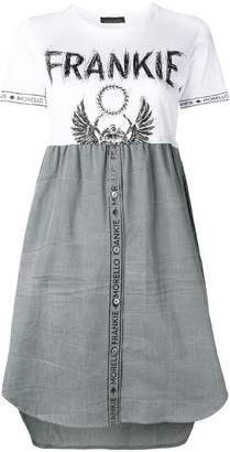 Frankie Morello T-shirt flared dress