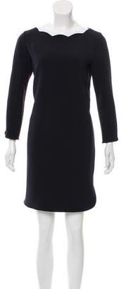 Claudie Pierlot Long Sleeve Mini Dress