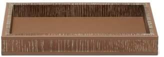 Bottega Veneta Textured Wooden Tray - Beige
