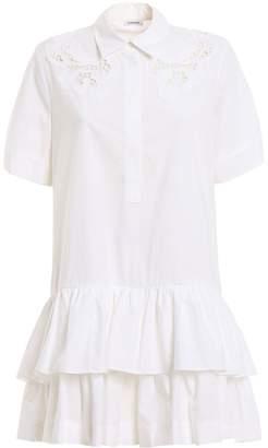 P.A.R.O.S.H. Lace Shirt Dress