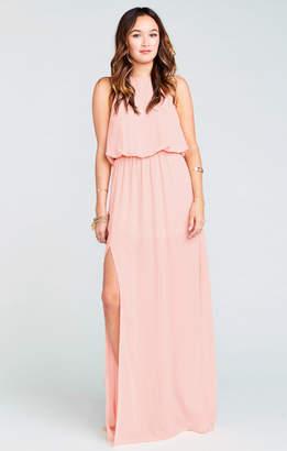 Show Me Your Mumu Heather Halter Dress ~ Frosty Pink Crisp