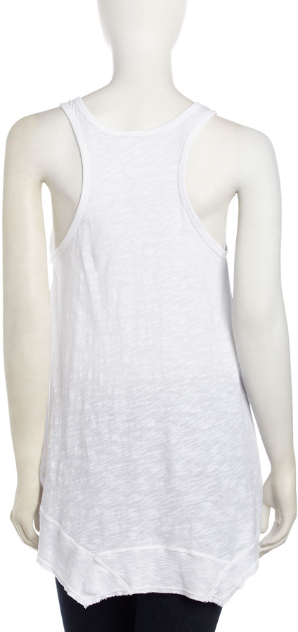 W by Wilt Pocket Tank, White