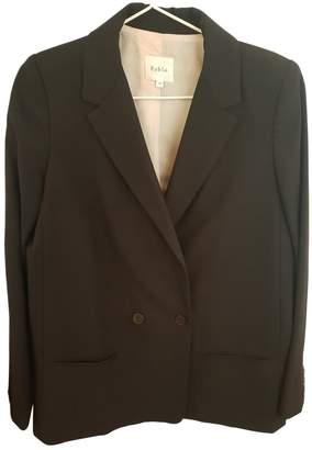 Pablo Black Wool Jacket for Women