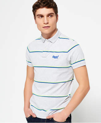 Superdry Echo Beach Stripe Polo Shirt