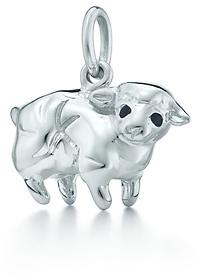 Paloma Picasso Paloma's Chinese Zodiac sheep charm