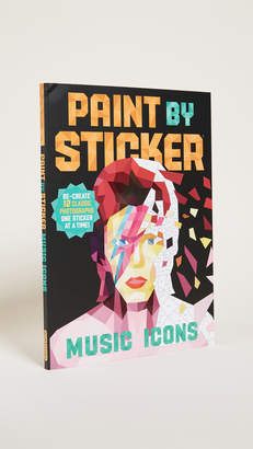 Icons Books With Style Paint By Stickers: Music