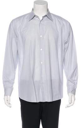 Hermes Woven Dress Shirt