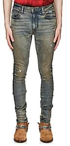 Amiri Men's Stack Slim Jeans - Lt. Blue