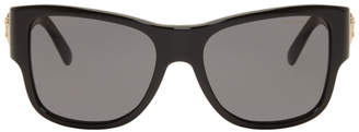 Versace Black Square Medusa Sunglasses