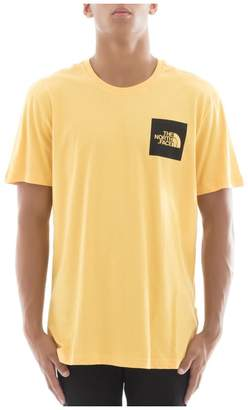 The North Face Yellow Cotton T-shirt